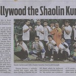 Shaolin India News Coverage in DNA Times