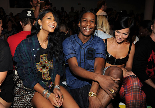 Missinfo nicki minaj asap rocky the jonas brothers attend jeremy scott nyfw 2013 3 m4hsunfo Images
