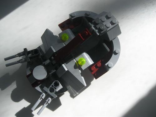 moc the infantry support platform isp lego star