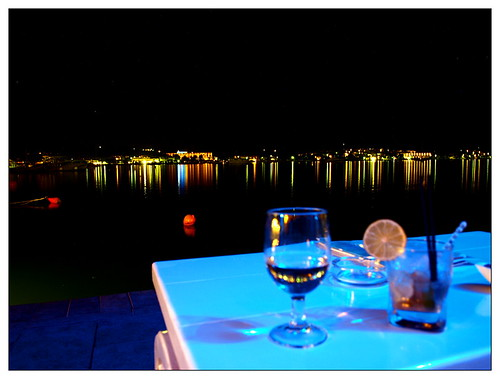 summer water seaside nightshot greece booze peloponnese getaways ελλάδα πελοπόννησοσ