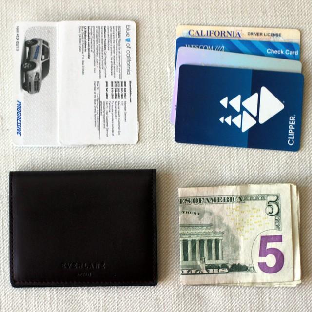everlane wallet