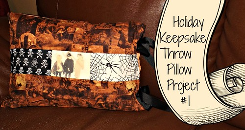 Part of the Holiday Throw Pillow Project series