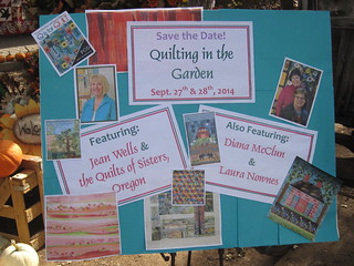 Quilting in the Garden 2014