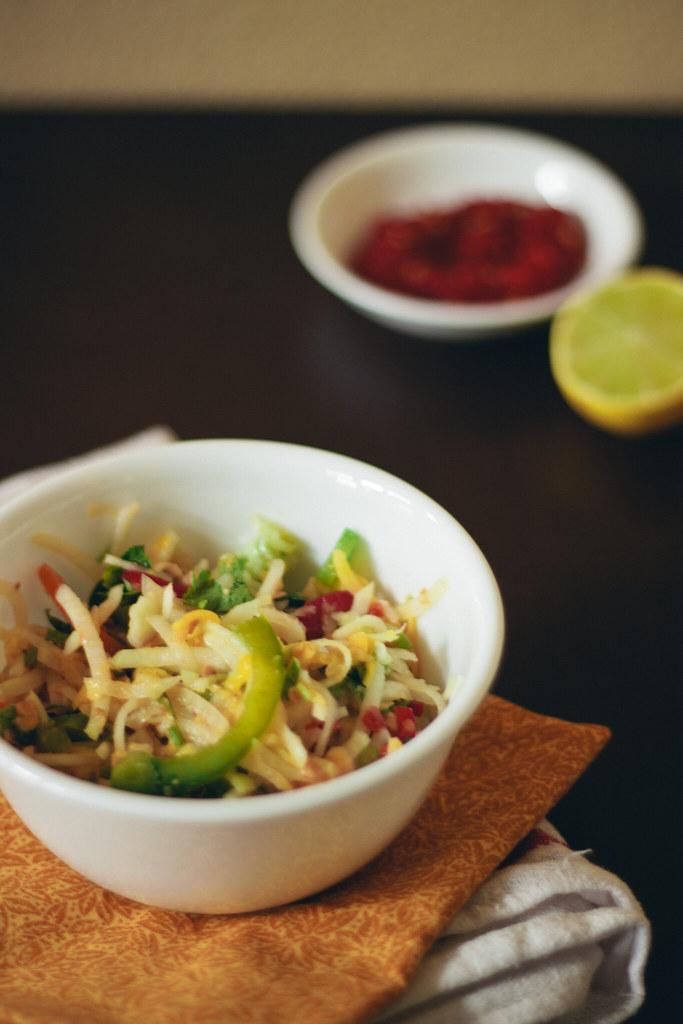 {thai papaya salad} via chevrons & éclairs