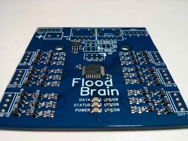 FloodBrain - 18 Channel 10W RGB LED Floodlight System