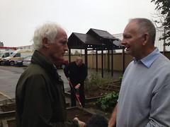 Duncan visits #Kilbarrack Fire Station #GreenPlan