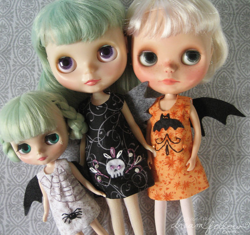 new spooky dresses at little dear!