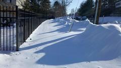 Sidewalk following Snowmageddon