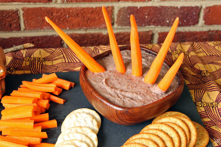 Julip Made black bean hummus Halloween2