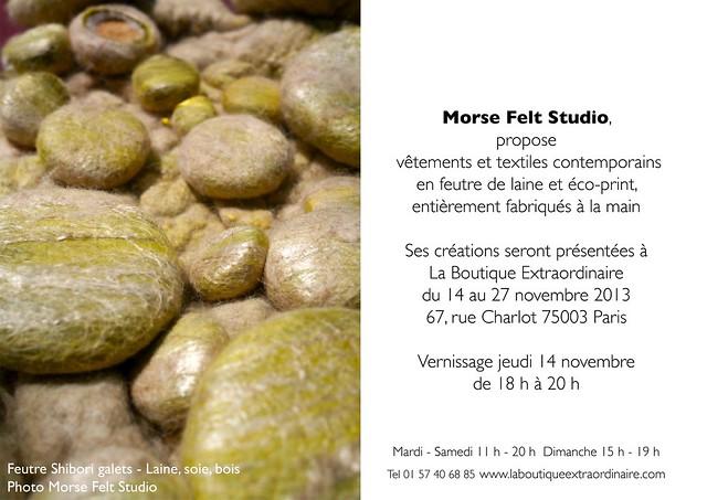 Morse Felt Studio - La boutique extraordinaire