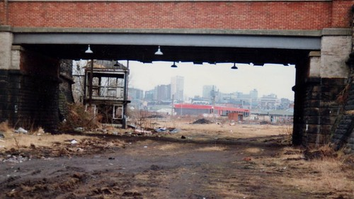 Hunslet  Lane Goods Yard. Leeds 10.1987