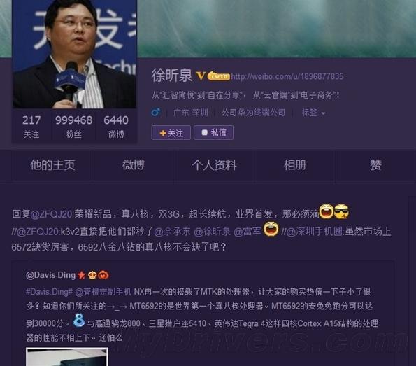 Выход Huawei Ascend P6S