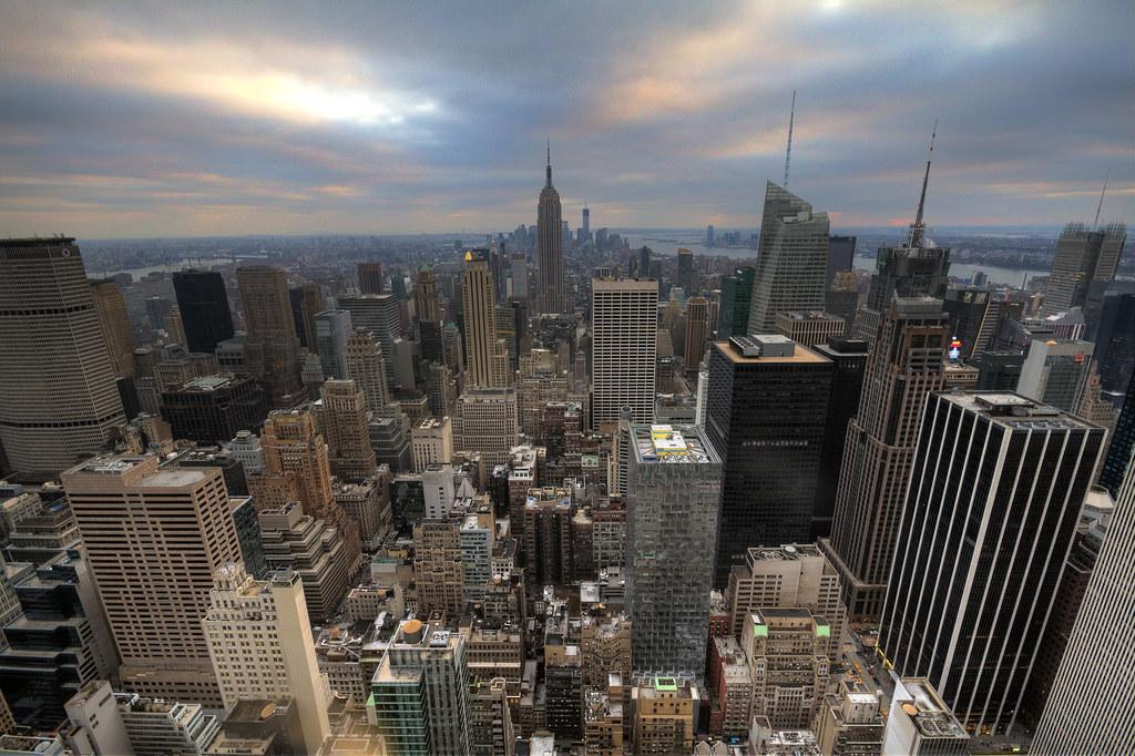 New York Approaching Sunset