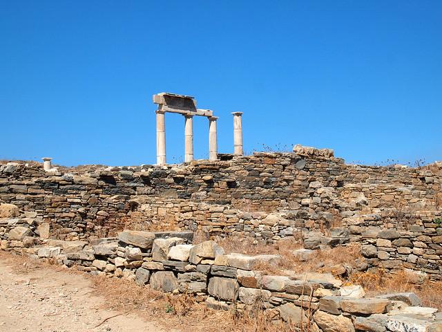 Ruins on Delos