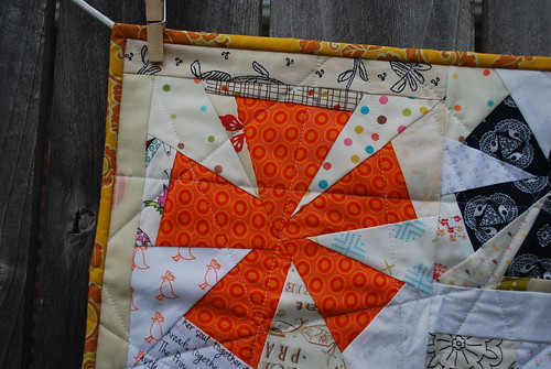 Schnitzel and Boo Mini Quilt Swap