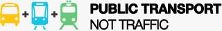 Public Transport Not Traffic logo