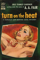 Dell Books 620 - A.A. Fair - Turn on the Heat