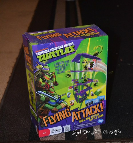 Teenage Mutant Ninja Turtles Flying Attack Skill and Action Game