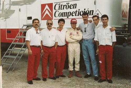 Preparadores Citroën Competición España Circuitos