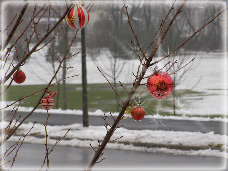 ~ oh, the weather outside is frightful...