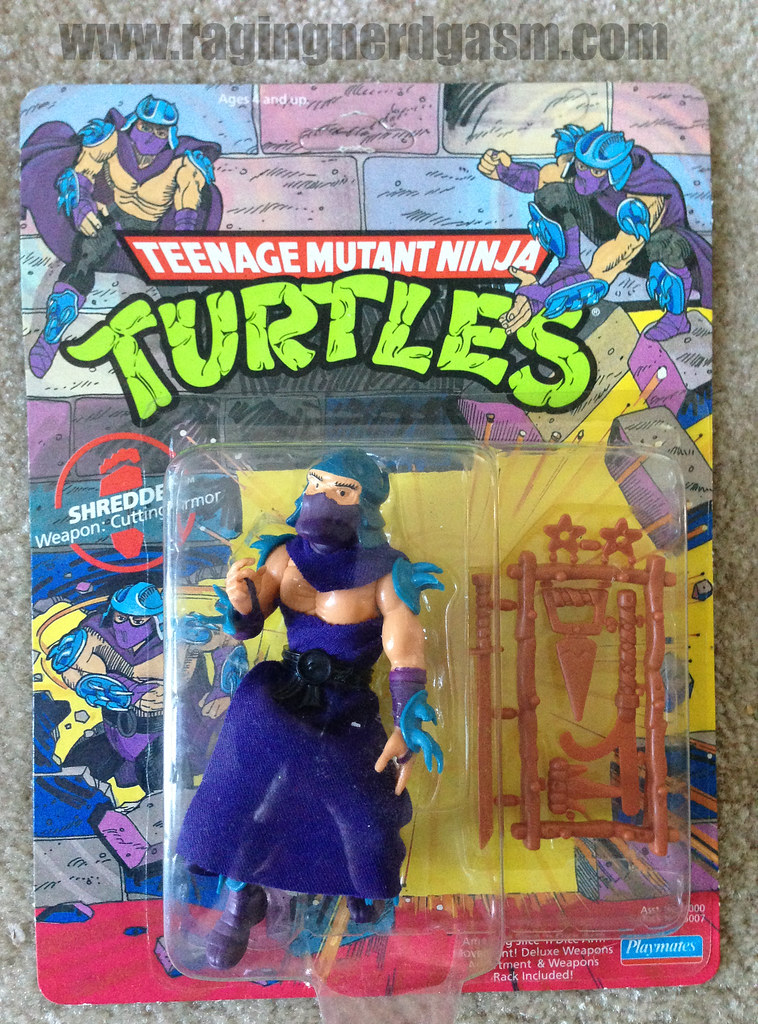 Vintage Teenage Mutant Ninja Turtles Shredder