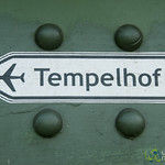 Tempelhof Airport Sign - Berlin