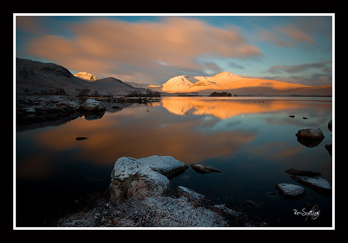 Lochan na h'Aclaise Sunrise by rosscosqf