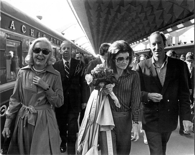 Moscow Train Station in Leningrad 1976