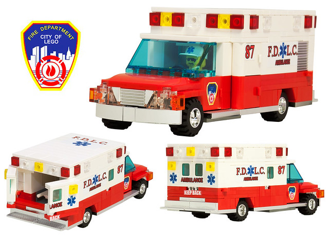 Flickr photo sharing - Lego ambulance ...