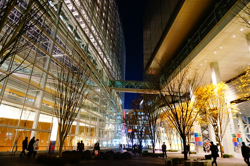 Tokyo International Forum at night 03