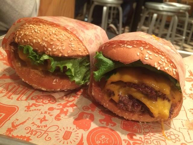 Super cheeseburger - Super Duper Burgers