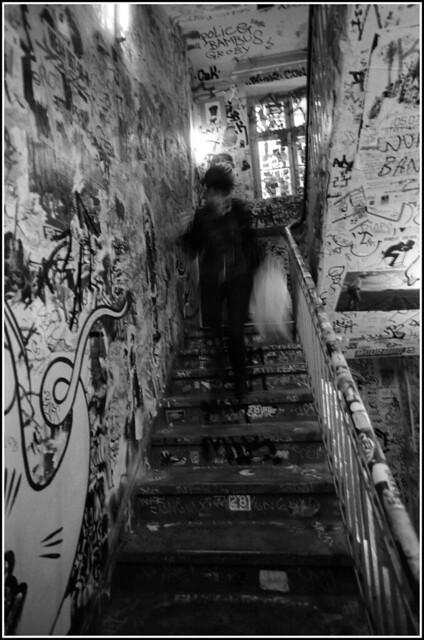 Berlin febr 2012,Kunsthaus''Tacheles