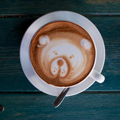 Dongying China Picture : bear in my coffee cup