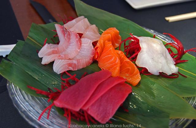 Sashimi in Enso Sushi  (Murcia)