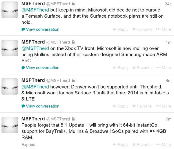 Дата выхода Surface 3