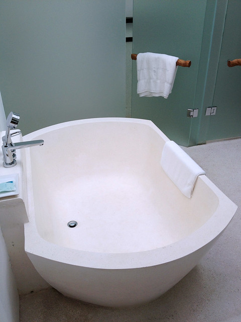 I absolutely LOVE the giant bathtub!