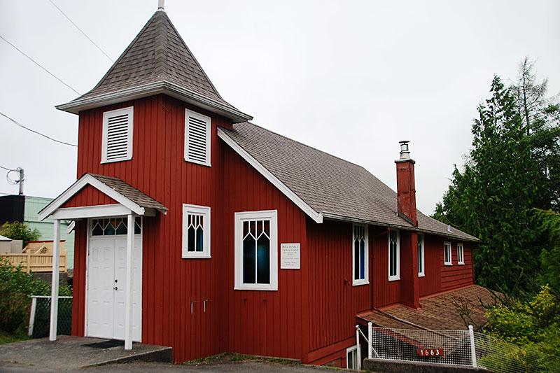 Holy Family Catholic Church, Ucluelet, Vancouver Island, British Columbia