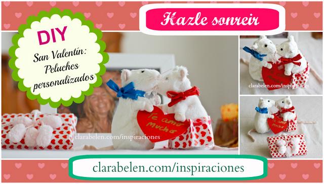 San Valentin Ratones enamorados DIY