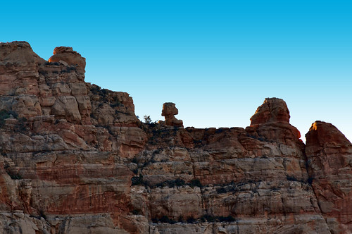Snoopy Rock in Sedona by Coconino National Forest