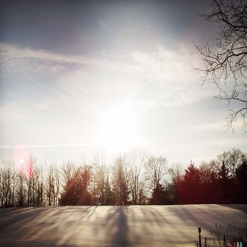 sun snow nature wisconsin instagram ifttt