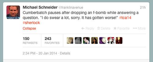 Benedict Twitter