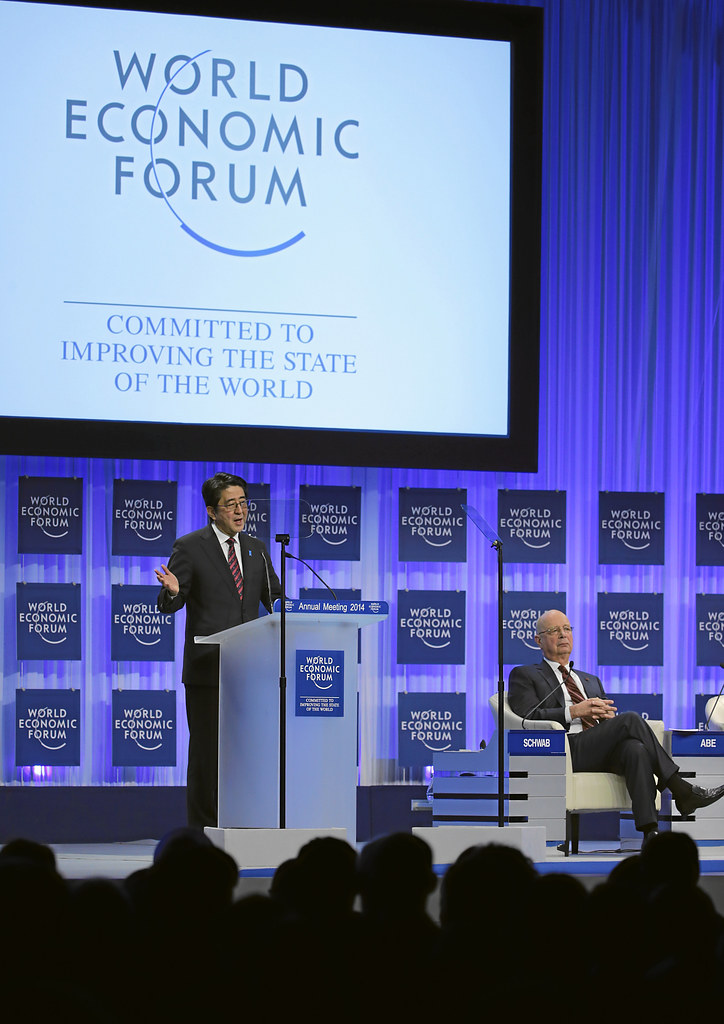The Reshaping of the World: Vision from Japan: Abe, Schwab