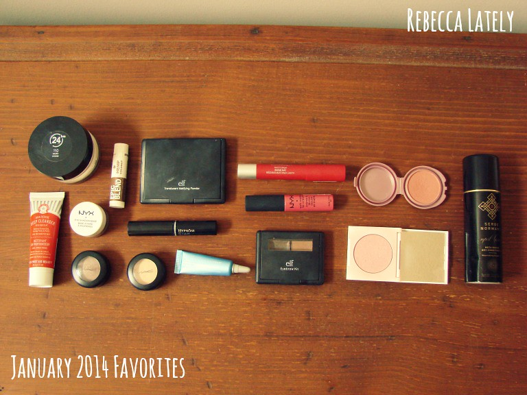 January 2014 Beauty Favorites 1