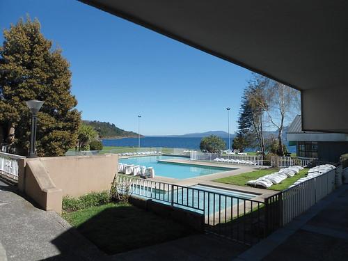 Piscina/Swimming pool, Gran Hotel Pucón, Pucón, Región de La Araucanía, Chile - www.meEncantaViajar.com by javierdoren