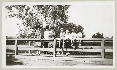 Eight on a bridge