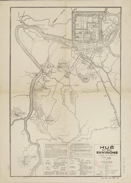 1932 Hué et ses environs -  Huế và vùng phụ cận