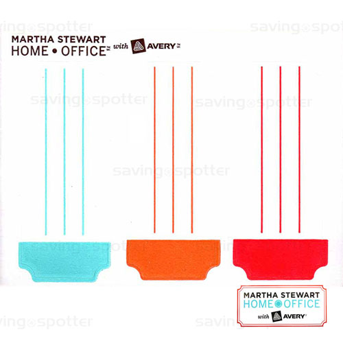 Martha Stewart Home Office: Martha Stewart Home Office Avery Color Coding Labels