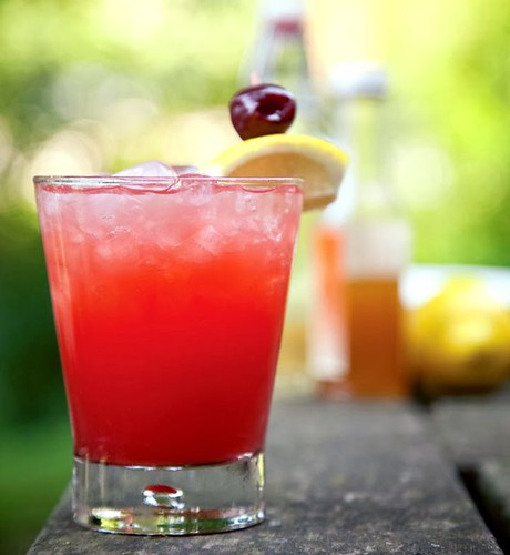 Cherry Vodka Sour Recipe