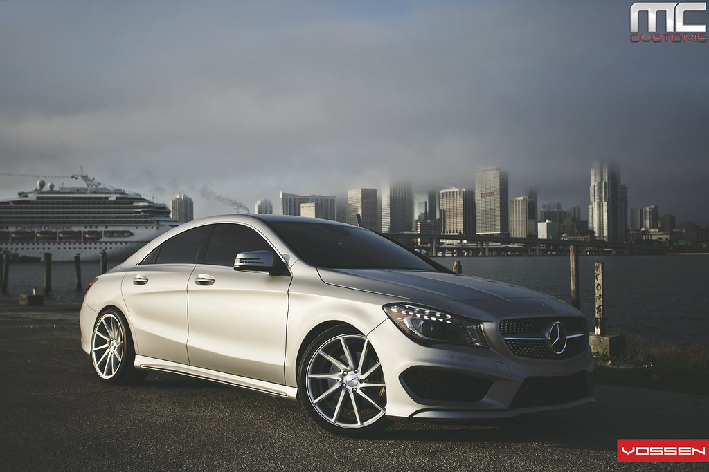 Mercedes benz cla250 fitted with vossen cvt 39 s mbworld for Mercedes benz forum
