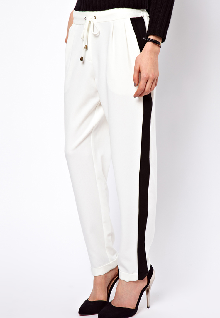 ASOS Trousers in Colour Block